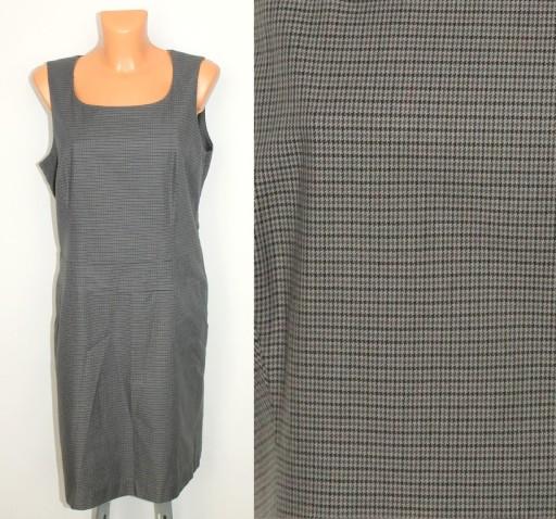 a7553ae0f7 ESPRIT logowana sukienka z kieszeniami szara 44 (7368375182 ...