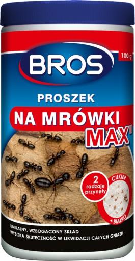 Bros Max Proszek Na Mrowki Mocniejszy Sklad 100g 7449975233 Allegro Pl
