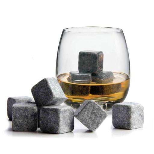 Kamienne Kostki Do Drinkow Whisky Stones 9 Szt 7306074469 Allegro Pl