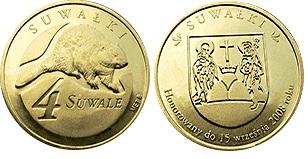 4 suwale 2008 ( Bóbr ) - dukat lokalny Suwałki