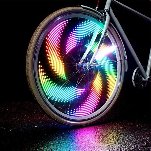 światła Neonowe Rowerowe Na Szprychy Koła Led