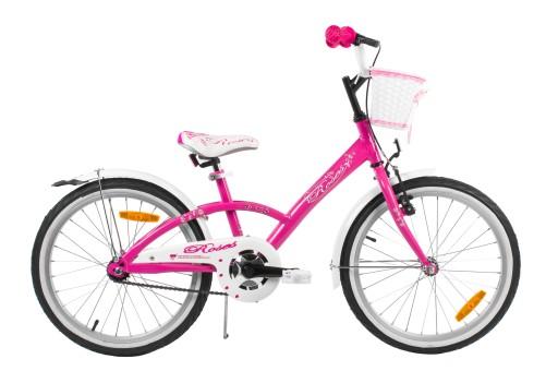 Polski Rower 20 Cali Roses Dla Dziewczynki Rowerek 7838142527 Allegro Pl