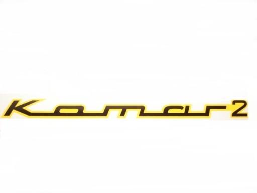KOMAR 2 STICKER NA TIN FUEL TRANSFERS ROMET