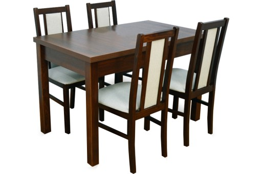 Zestaw Stół Rozkładany I 4 Krzesła Nowoczesny 6771045225 Allegropl