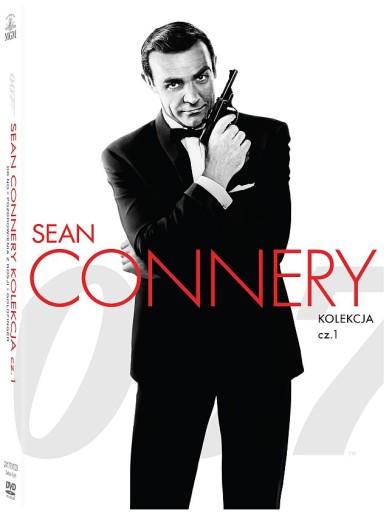 JAMES BOND: SEAN CONNERY KOLEKCJA 1 - BOX [3 DVD]