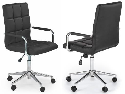 Krzesło Biurowe Dziecięce Czarne Gonzo 2 24h